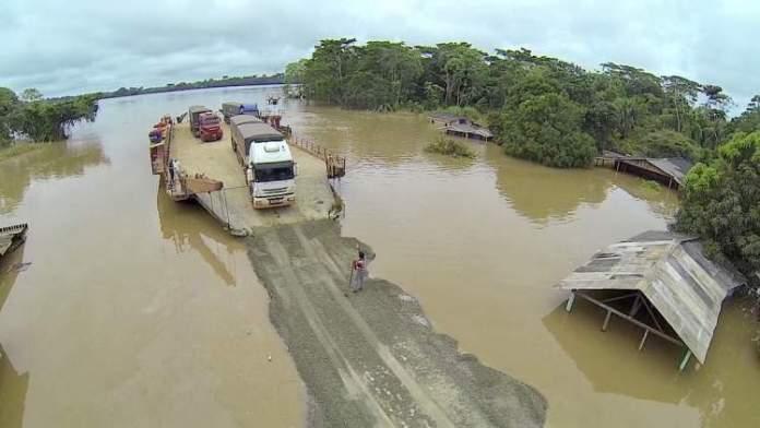 Rio Abunã no Acre