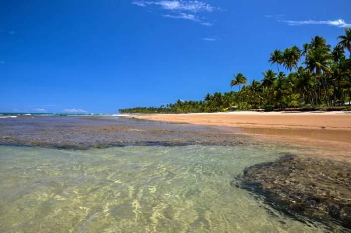 Taipu de Fora é um dos destinos com praia para quem ama se exercitar
