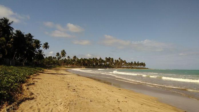 Praia Marceneiro em Alagoas.