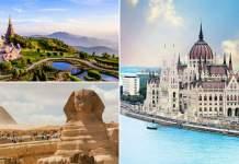 países mais baratos do mundo para viajar