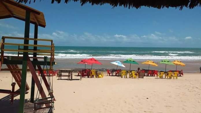 Abreulândia é uma das melhores praias de Fortaleza