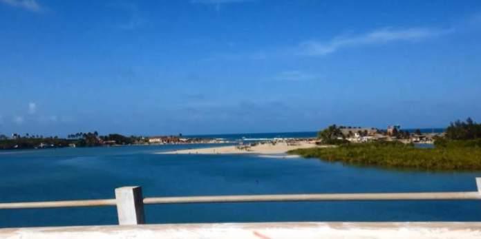 Caça e pesca é uma das melhores praias de Fortaleza
