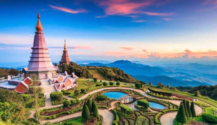 Chiang Mai Tailândia é um dos lugares deslumbrantes na Ásia