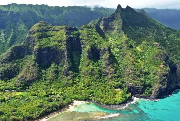 Monte Waialeale Kauai Havaí