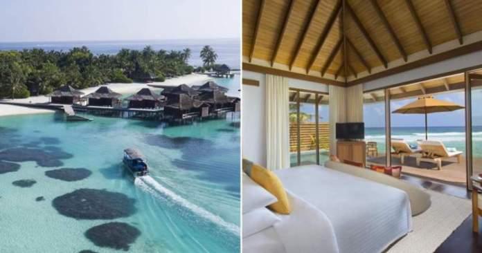 Anantara Veli Maldives Resort é um dos melhores hotéis nas Maldivas