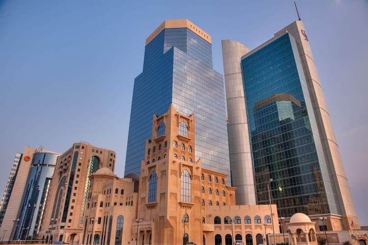 Barzan Towers é um dos lugares para visitar no Qatar