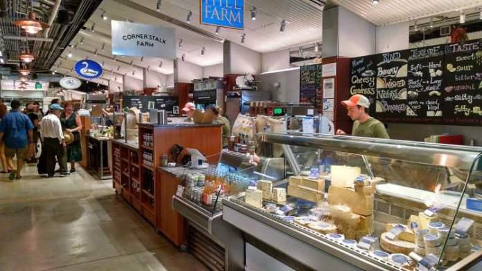 Conhecer o Mercado Municipal é uma das razões para passar as férias em Boston