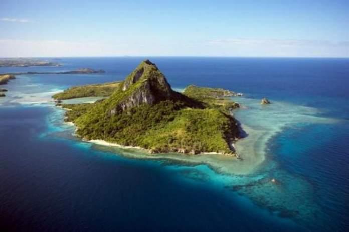 Ilha Drawaqa em Fiji