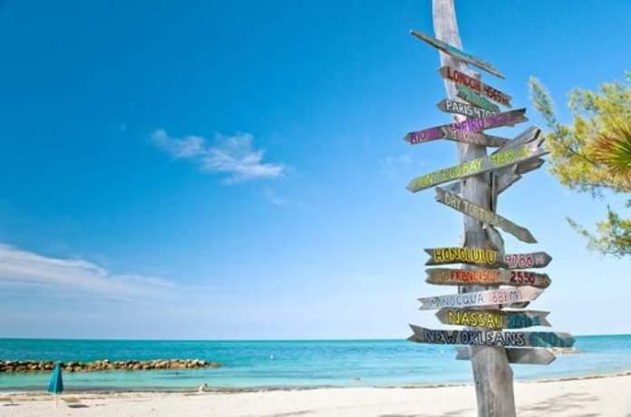 Key West é uma das melhores praias de Miami