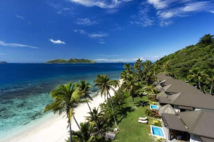 Matamanoa Beach em Fiji