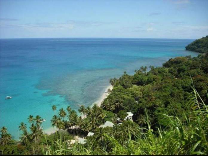 Matana Beach em Fiji
