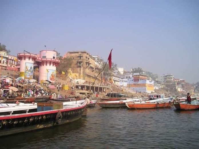 Rio Ganges na Índia