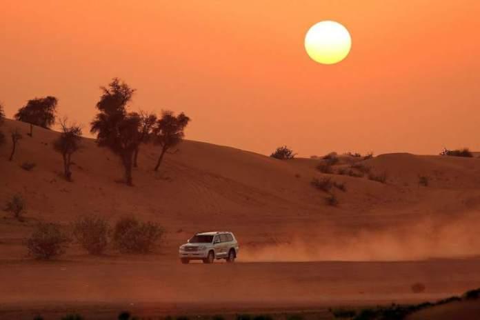 Safari no Deserto de em Abu Dhabi