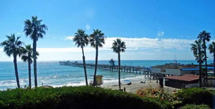 San Clemente State Beach é uma das melhores praias da Califórnia