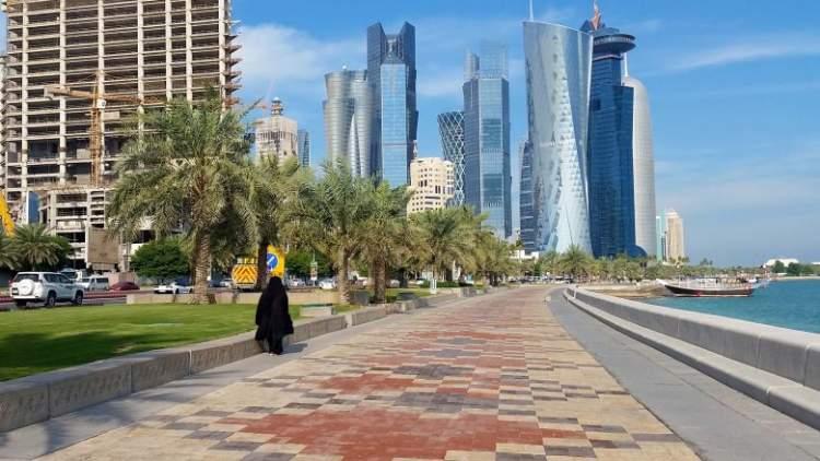 The Corniche é um dos lugares para visitar no Qatar