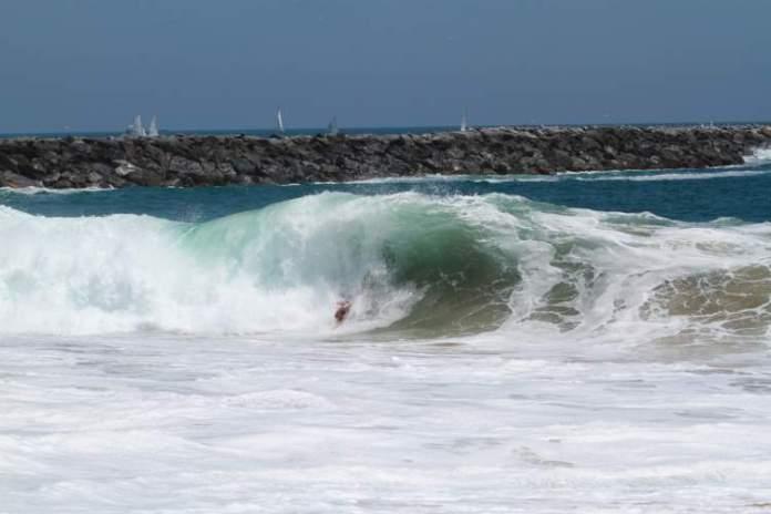 The Wedge é uma das melhores praias da Califórnia