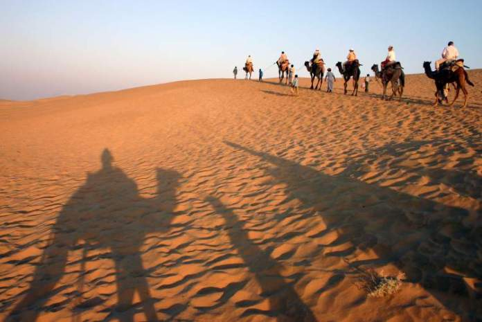 deserto de Jaisalmer em Hyderabad na Índia