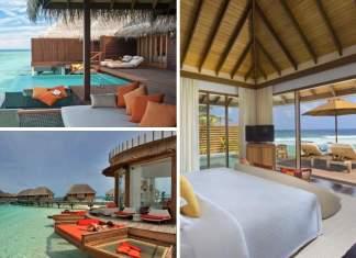 melhores hotéis nas Maldivas