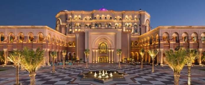 Emirates Palace Emirados Árabes Unidos