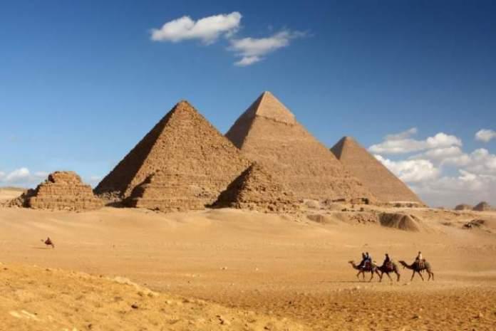 Necrópole de Gizé no Egito