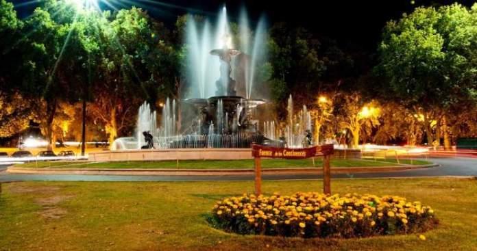 Parque General San Martin em Mendoza na Argentina