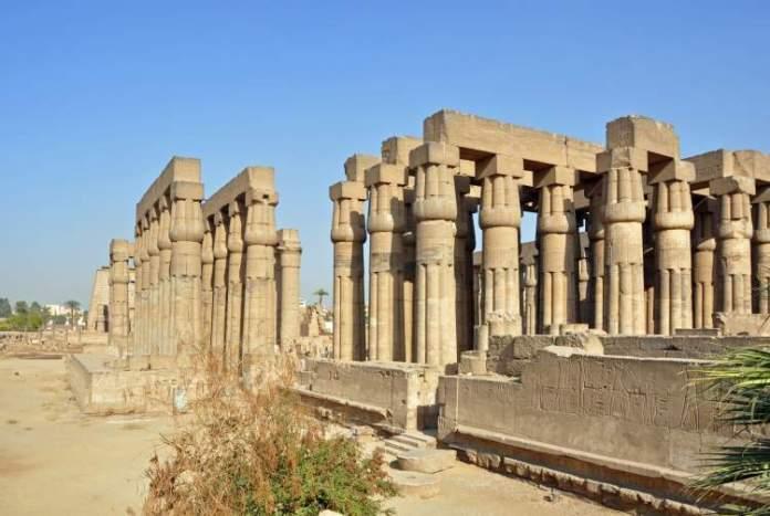 Templo de Luxor no Egito