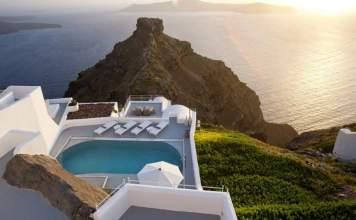 melhores hotéis na Grécia
