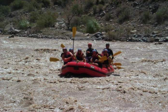rafting no Rio Mendoza