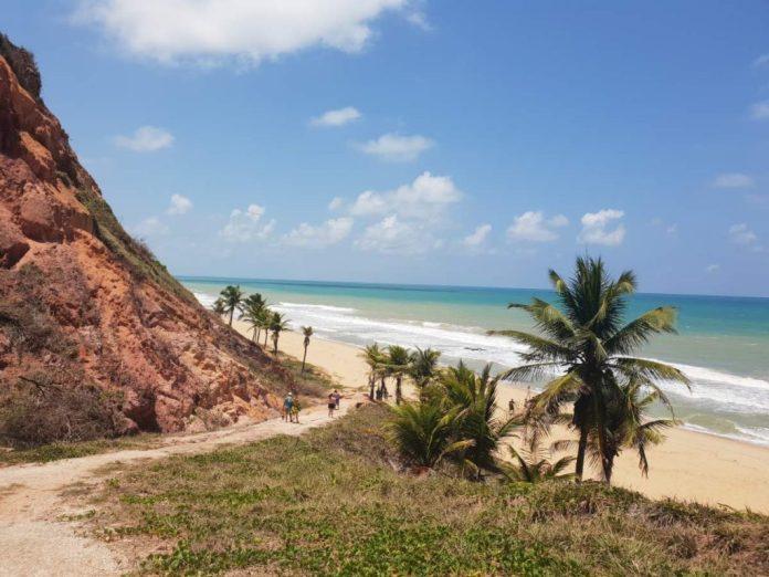 Praia em Maceió, Alagoas