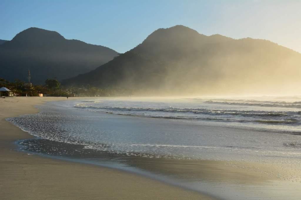 Praia de Perequê Açu em Ubatuba - SP