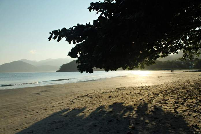Praia do Lázaro em Ubatuba - SP