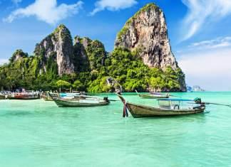 Tailândia na Ásia