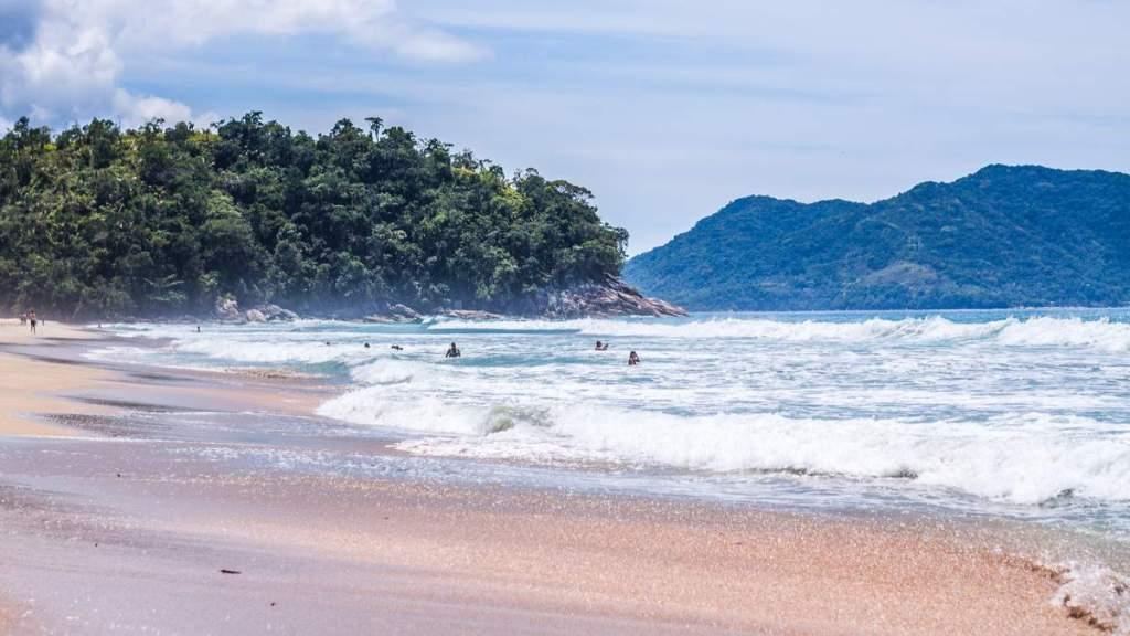 Praia de Fora em Ubatuba - São Paulo