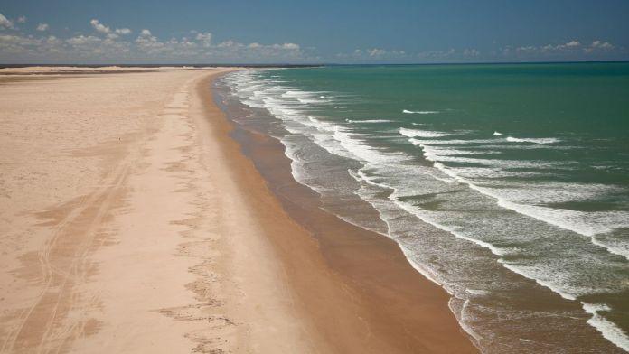 Praia Pontal do Peba é um dos pontos turísticos em Penedo