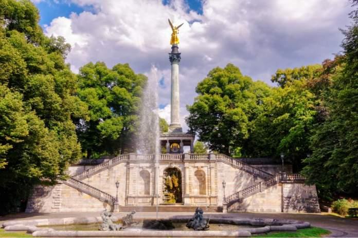 Anjo da Paz em Munique - Alemanha