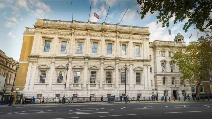 Banqueting House em Londres - Inglaterra
