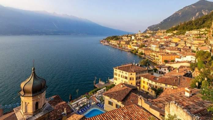 Limone sul Garda, província de Brescia, Lombardia, Itália.