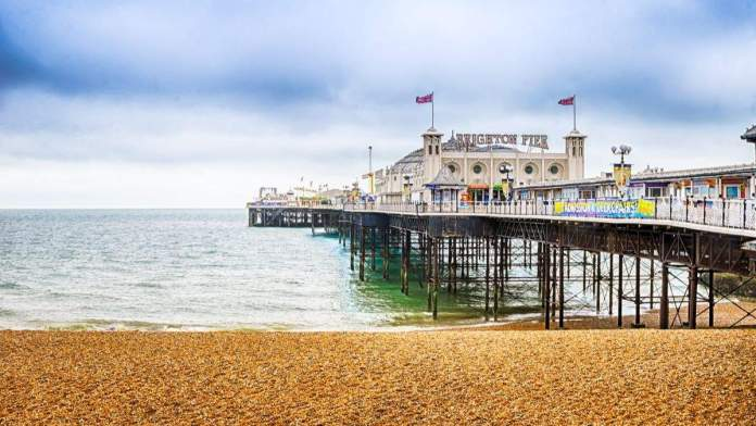 Brighton Pier, Inglaterra.