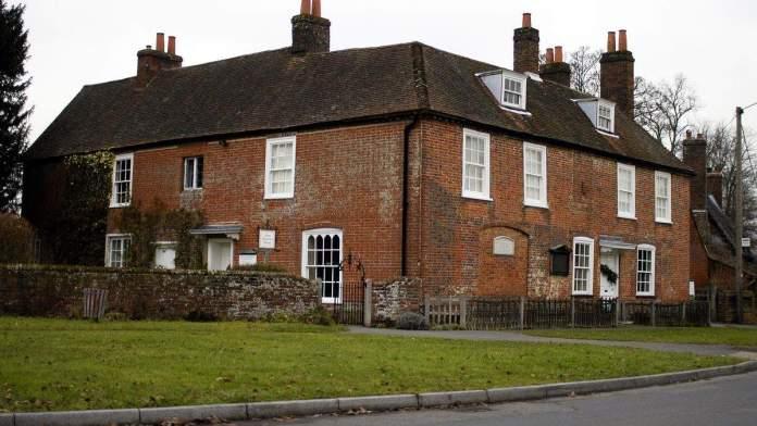 Casa Jane Austen Winchester, Inglaterra.