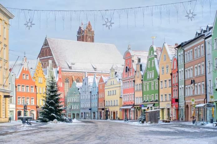 Decoração natalina em Munique - Alemanha