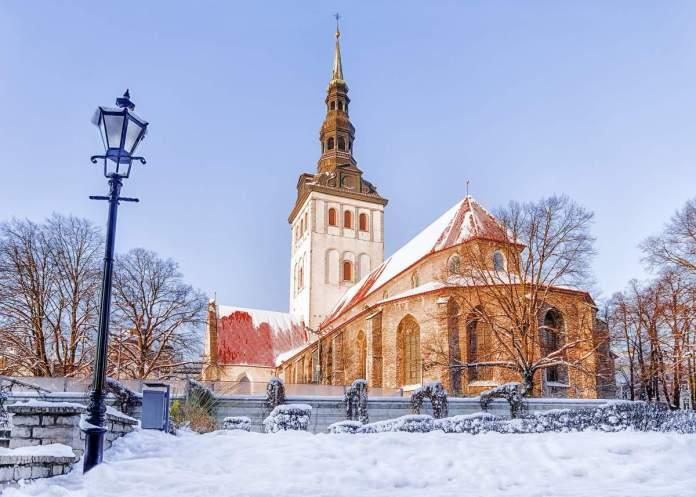 Igreja de São Nicolau em Tallinn, Estônia