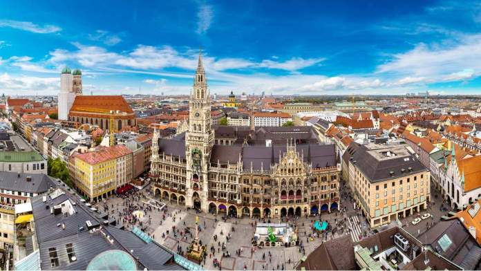 Marienplatz, Munique - Alemanha