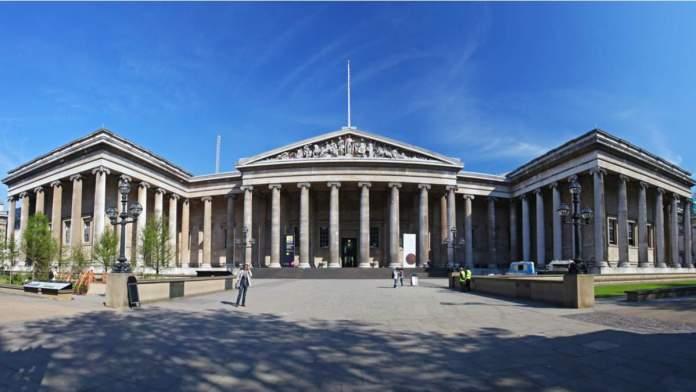 Museu Britânico em Londres - Inglaterra