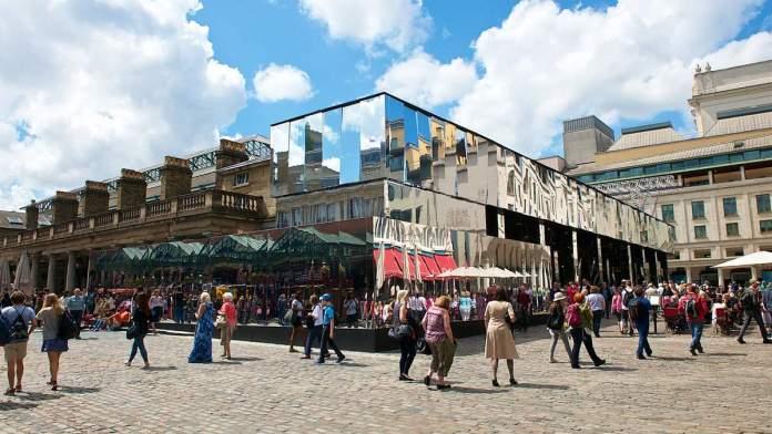 New Covent Garden Market em Londres - Inglaterra
