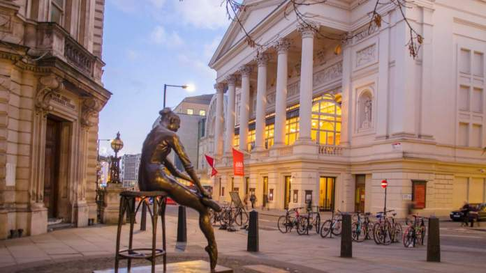 Royal Opera House em Londres - Inglaterra