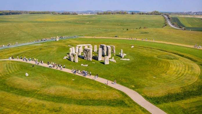 Monumentos de Stonehenge, Inglaterra.