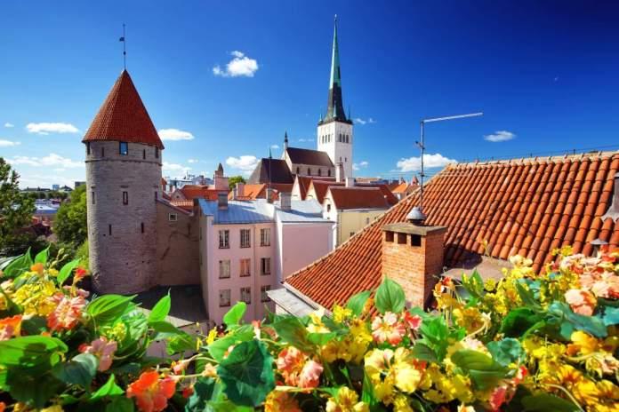 Tallinn durante o verão