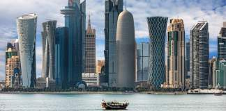 Baía de Doha no Catar