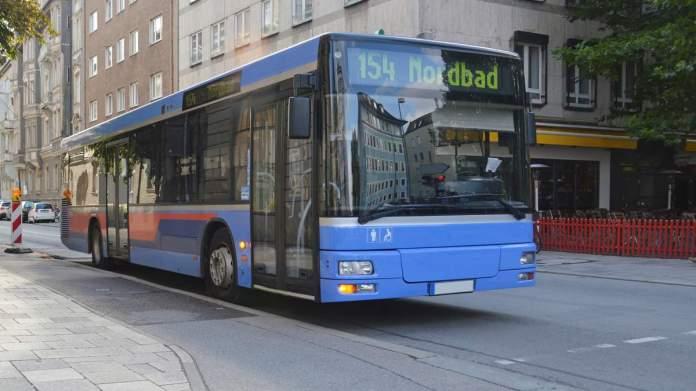 ônibus em Munique - Alemanha