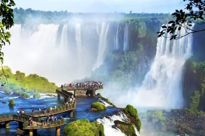 Cataratas do Iguaçu em Foz do Iguaçu - Paraná